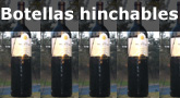 Botellas hinchables