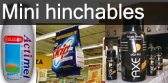 Mini hinchables estancos