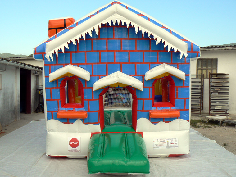 Casita nevada hinchable
