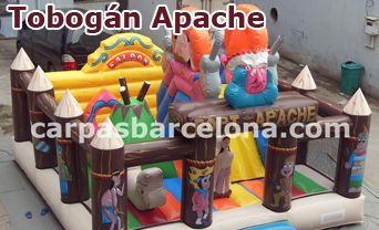 Toboganes hinchables inflables