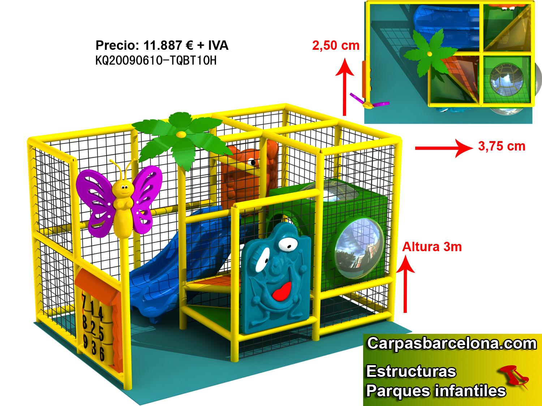 Estructuras parques infantiles interior venta playground - Juego de diseno de interiores ...