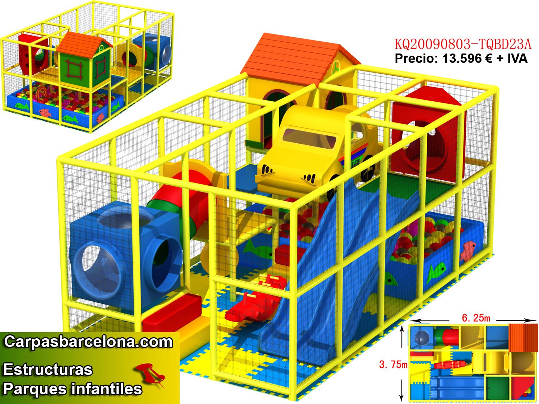 estructuras parques infantiles interior venta playground