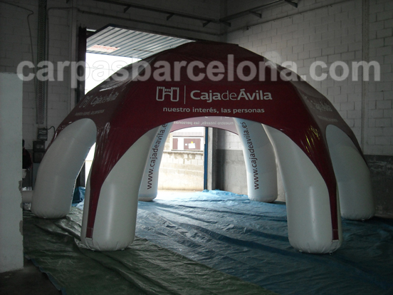 carpas hinchables
