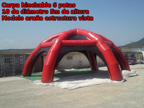 Carpas hinchables venta inflables for Mano mano carpas