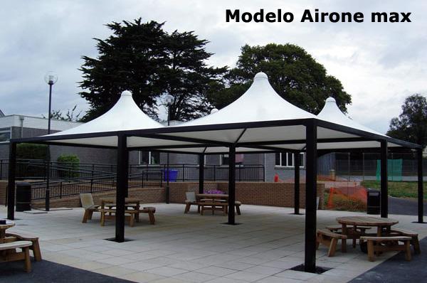 Carpas fabricacion para parking cubiertas coberturas - Precios de carpas ...