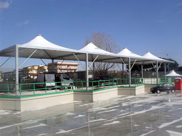 Carpas fabricacion para parking cubiertas coberturas for Carpas 4x4 precios
