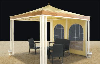 Venta de carpas modulares carpas terraza restaurantes for Carpas de madera para jardin