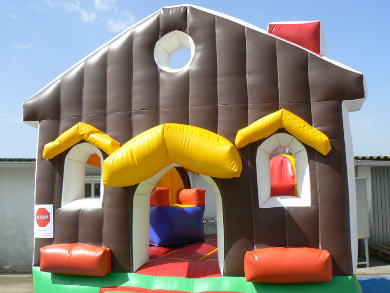 casita inflable