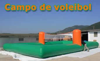 Voleibol playa hinchable